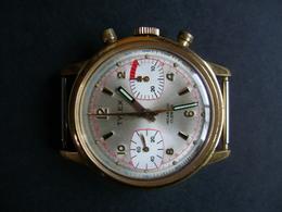 Montre Chronographe Tylex Valjous 7733 (fonctionne Mais à Révisée) - Watches: Old