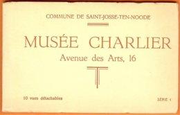 Carnet Complet Série 1, 10 Vues Détachables -Saint-Josse-Ten-Noode-Musée Charlier - St-Josse-ten-Noode - St-Joost-ten-Node