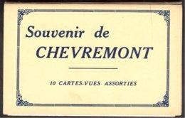 Carnet 10 Cartes Vues Assorties édit.: Butenaers: Souvenir De Chevremont - Chaudfontaine