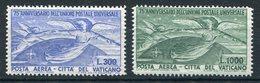 1949-VATICANO-AIR POST- U.P.U. - 2  VAL.-M.N.H.-LUXE ! - Airmail