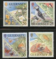 Guernesey, Yvert 818/821, Scott 680/683, MNH - Guernsey