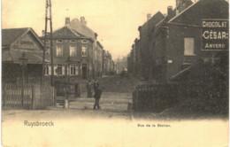 RUISBROEK    Rue De La Station - Sint-Pieters-Leeuw