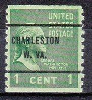 USA Precancel Vorausentwertung Preo, Bureau West Virginia, Charleston 839-61 - Vereinigte Staaten