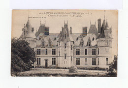 Sur Carte Postale Timbre Exposition Coloniale 15 C. Gris 1931. CAD Saint Lambert La Potherie. (750) - 1877-1920: Période Semi Moderne