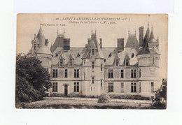 Sur Carte Postale Timbre Exposition Coloniale 15 C. Gris 1931. CAD Saint Lambert La Potherie. (750) - Postmark Collection (Covers)