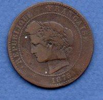 10 Centimes 1875 K  / B/TB - D. 10 Centimes