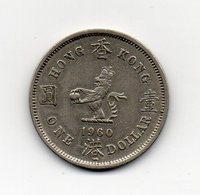 HONG KONG - 1960 - 1 Dollaro - Vedi Foto - (MW1575) - Hong Kong
