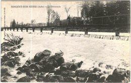Carte Postale Ancienne De NOGENT SUR SEINE-Le Déversoir - Nogent-sur-Seine