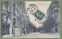 CPA Vue Rare - PARIS - RUE (avenue) MOZART,  PRISE DE LA CHAUSSÉE DE LA MUETTE - Animation, Commerces - P. Marmuse/439 - Distretto: 16