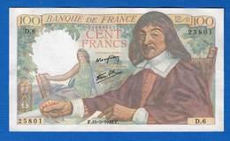 100 Fr  Du  15/5/1942 - 1871-1952 Anciens Francs Circulés Au XXème