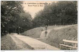 65. Capvern Les Bains. Rond Point Du Bois - Francia