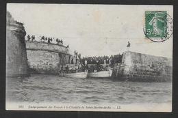 SAINT MARTIN DE RE - Embarquement Des Forçats à La Citadelle - Saint-Martin-de-Ré