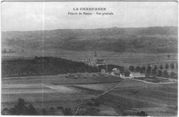Carte Postale Ancienne De LA CHAMPAGNE-Prieuré De Binson-vue Générale - Francia