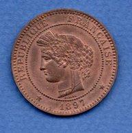10 Centimes 1897 A  / SPL - Frankrijk