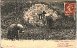 Carte Postale Ancienne De LISORS-fontaine Sainte Catherine - Altri Comuni