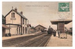 Auneau - Ville (28 - Eure Et Loir)  La Gare - Auneau