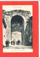 11 ALET Cpa Animée La Vieille Porte   154 Labouche - Francia