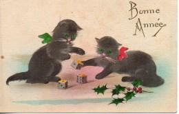 Chats Jouant Aux Dé - Cats