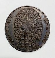 LONDON - Earls Court Gigantic Wheel (1902) Token / 31Mmm (Great Wheel Of London 1895-1907) - Monetari/ Di Necessità
