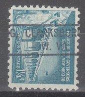 USA Precancel Vorausentwertung Preo, Locals West Virginia, Clarksburg 804 - Vereinigte Staaten