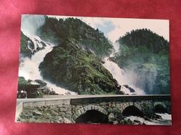 Noorwegen Norvège Norway Noorwegen Norge Låtefoss Waterfall 1985 - Noorwegen