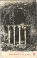 Carte Postale Ancienne DeParc De RADEPONT-ruines Du Château- La Chapelle - France
