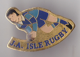 PIN'S  THEME SPORT  RUGBY ISLE  RUGBY - Rugby