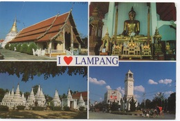 CPSM THAILANDE LAMPANG  Diverses Vues - Thaïlande