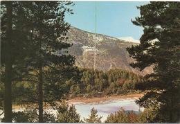 CPSM PRINCIPAUTÉ D'ANDORRE Encamp  Lac D'Engolaster - Andorre