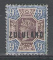 ZOULOULAND:  N°9 *      - Cote 100€ - - Afrique Du Sud (...-1961)