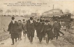 Cpa Ivry Crue De La Seine  Monsieur Fallieres Briand Lepine - Ivry Sur Seine