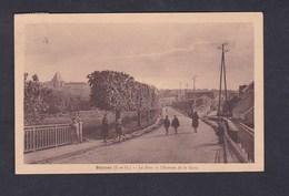 Beynes (78) Pont Et Avenue De La Gare ( Animée Ed. Meyrenaud Tabacs ) - Beynes