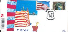 BELGIUM FDC COB 3291/92 - FDC
