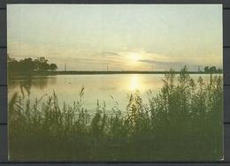 Estland Estonia 1990 Ansichtskarte Hapsal Haapsalu Sunset On The Small Bay Sauber Unbenutzt Unused - Estonie