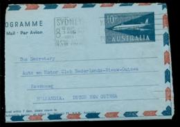 Australia 1961 Part Of Aerogramme - Aerogrammes