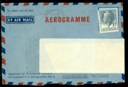 Australia Front Of Aerogramme - Aerogrammes