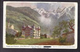 """CPA AUTRICHE - ÖTZ - ÖTZTAL - Hotel Und Pension """" Drei Mohren """" - Superbe Illustration Dessin TB CP - Austria"""
