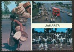 Indonesia 1980 (?) Postcard Jakarta - Indonesia