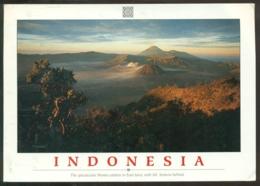 Indonesia 1999 (?) Postcard Bromo Caldera East Java - Indonesia