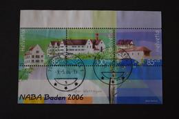 Suisse - Naba 2006 Expo Philatélique Nationale à Baden BF N° 40 Oblitéré - Blocks & Kleinbögen