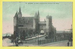 * Antwerpen - Anvers - Antwerp * (SBP, Nr 16) Le Steen, Musée D'armes Anciennes, Chateau, Schelde, Escaut, Animée Port - Antwerpen