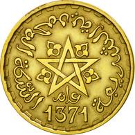 Monnaie, Maroc, Mohammed V, 20 Francs, AH 1371/1952, Paris, TTB - Maroc