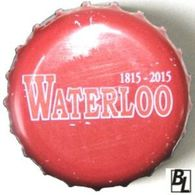 23/7 - BELGIQUE / CAPSULE BIERE WATERLOO TRIPLE BLONDE / DATEE AU DESSUS - Bière
