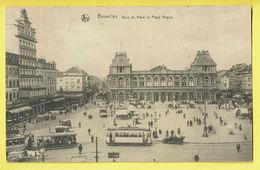 * Bouillon (Luxembourg - La Wallonie) * (Nels, Série 1, Nr 21) Gare Du Nord Et Place Rogier, Bahnhof, Tram, Vicinal - Bouillon