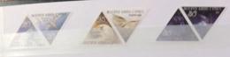 Cyprus 2003 BIRDC SOPF PREY SE TENANT SET TRIANGULAR STAMPS MNH - Eagles & Birds Of Prey