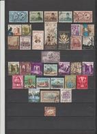 34 TIMBRES EGYPTE OBLITERES  DE 1893-1947-1949-1952-1953-1958-1959-1961-1964 - Egypt