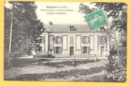 """Carte Postale En Noir & Blanc """" Saint-Corentin Ancienne Abbaye D'Agnès De Méranie """" à SEPTEUIL - Septeuil"""