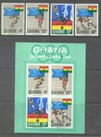 GHANA - 1969 - MNH/** - OLYMPIC GAMES MEXICO 1968  - Yv 328-331 BLOC 33 - Lot 17906 - Ghana (1957-...)