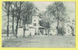 * Liège - Luik (La Wallonie) * (Th. Van Den Heuvel, Nr 5) Exposition, Expo 1905, Le Pavillon De Serbie, Animée, Rare Old - Luik