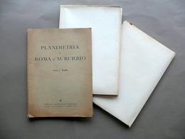 Planimetria Di Roma E Suburbio Scala 1:10000 Ist. Geografico Visceglia Anni '40 - Altre Collezioni